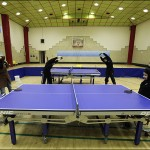 گزارش تصویری / تمرین تیم ملی تنیس روی میز بانوان معلول