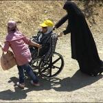 گزارش تصویری / کوهپیمایی معلولان در ارتفاعات توچال