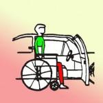روشهای سوار و پیاده شدن افرادنخاعی از خودرو