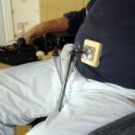 دستگاه قابل حمل برای کمک به سرفه کردن افراد نخاعی