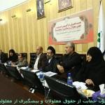 نشست مشترک معلولان و فراکسیون حمایت از حقوق معلولان مجلس شورای اسلامی