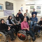 نشست مشترک اعضای هیات مدیره انجمن معلولین ضایعات نخاعی استان تهران و ایران