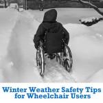 نکات ایمنی فصل زمستان برای کاربران ویلچر