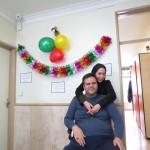 اهدا جهیزیه به یکی از اعضا انجمن ضایعات نخاعی استان تهران