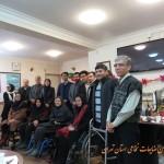 دیدار شهردار ناحیه و معاونت سلامت با اعضا انجمن ضایعات نخاعی استان تهران
