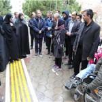بوستان پیروزی ویژه معلولان در منطقه 13 افتتاح شد
