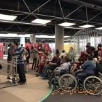 بازدید اعضا انجمن معلولین ضایعات نخاعی استان تهران از مجموعه باغ کتاب تهران