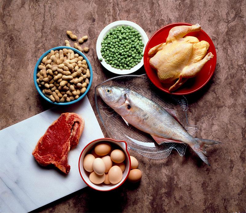 از پروتئینها در رژیم غذایی روزانه خود استفاده کنید